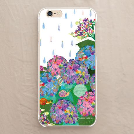 紫陽花スマホケース