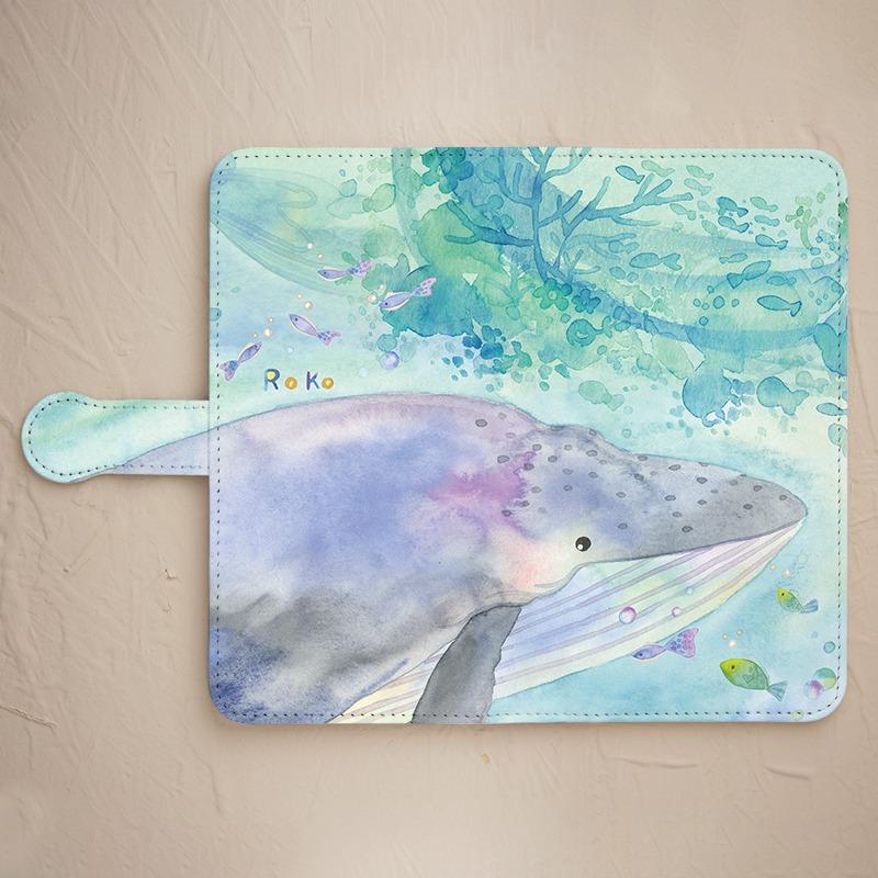 クジラスマホケース