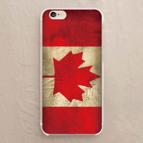 【カナダ国旗】スマホケースを見る