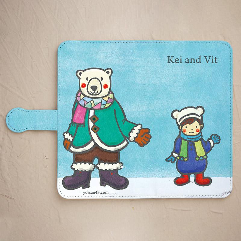 【Kei and Vit】スマホケースを見る