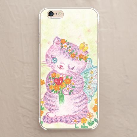 【猫の妖精】スマホケースを見る