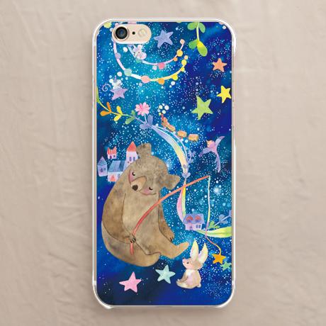 【星を釣るクマ】スマホケースを見る