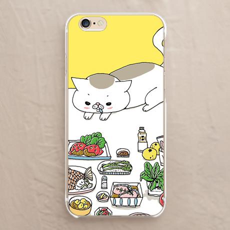 【猫とごはん】スマホケースを見る