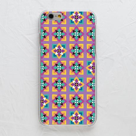 スマホケース【【カバー】紫の花】をチェックする