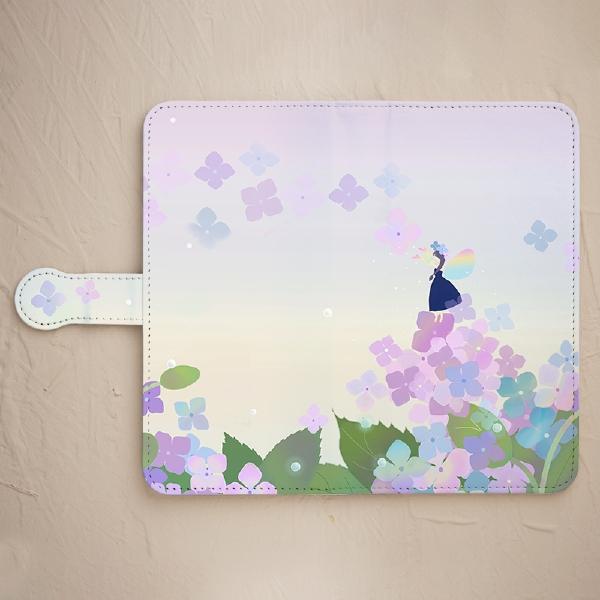 スマホケース【紫陽花の妖精 紺のドレス】をチェックする