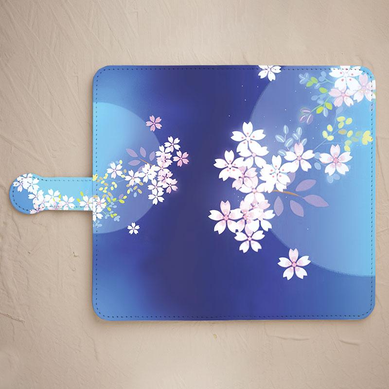 スマホケース【桜】をチェックする