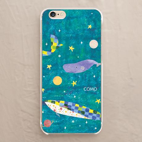 【クジラコスモ】iPhoneカバーをチェックする