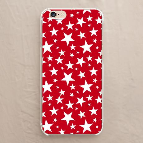 【レッドカーペット・ホワイトスター】iPhoneカバーをチェックする