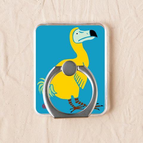 ドード鳥の表情が可愛らしい【ドードー鳥 ブルー】