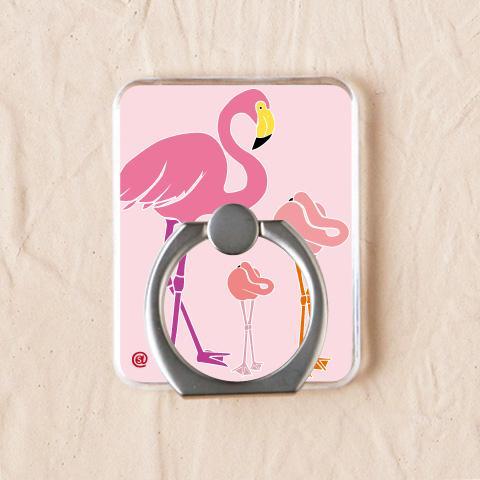 ピンクのフラミンゴで可愛さを全面で表現【フラミンゴ】